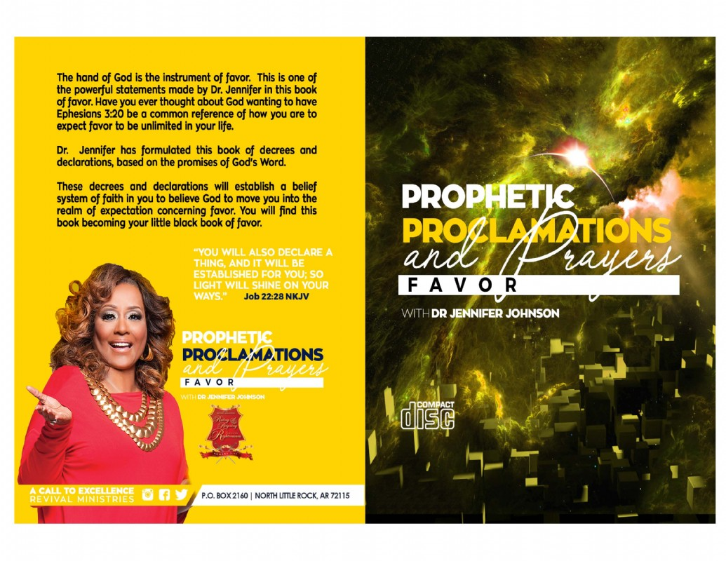 Prophetic Proclamations and Prayers on Favor Book