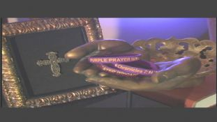 Purple Prayer Brigade Wristband