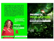 Prophetic Proclamations and Prayers on Healing Book